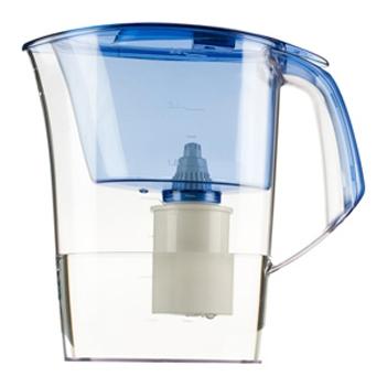 Кувшин Барьер Стайл BlueФильтры и умягчители для воды<br><br><br>Тип: фильтр-кувшин<br>Тип фильтра: кувшин<br>Подключение к водопроводу: нет<br>Фильтрующий модуль в комплекте: есть<br>Ресурс стандартного фильтрующего модуля: 350 л<br>Помпа для повышения давления: нет