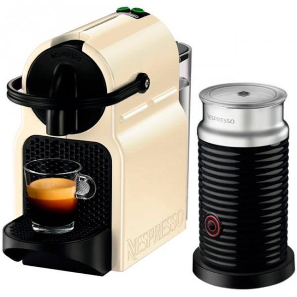 Кофемашина Delonghi EN 80 CWAE Nespresso InissiaКофеварки и кофемашины<br>Просыпайтесь легко с DeLonghi EN.80 CWAE!<br>Редко можно найти человека, который обожает вставать рано утром. Как же быстро проснуться и почувствовать себя бодрым и полным сил? Правильно, выпить чашечку горячего ароматного кофе! Устроить это очень легко, если у вас на кухне стоит замечательная кофемашина DeLonghi EN.80 CWAE!<br>Вставьте в нее капсулу с вашим самым любимым кофе, нажмите на кнопку и уже через несколько секунд получите вкуснейший напиток! Эспрессо, латте, капучино, американо — все, что вашей душе угодно! Эта машинка занимает удивительно мало места, а еще...<br><br>Тип : кофеварка эспрессо<br>Тип используемого кофе: Капсулы<br>Мощность, Вт: 1260<br>Объем, л: 0,8<br>Контейнер для отходов  : Есть<br>Съемный лоток для сбора капель  : Есть