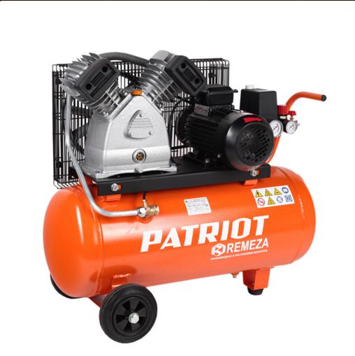 Компрессор Patriot REMEZA СБ 4/С - 50 LB 30Воздушные компрессоры<br>Двухцилиндровый компрессор с ременной передачей. Увеличенной производительности. Применяется для сервисных; ремонтных работ в гараже; на шиномонтаже и автосервисе.<br>