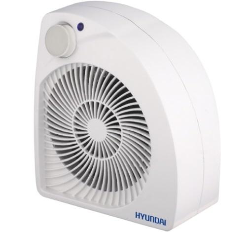 Термовентилятор Hyundai H-FH5-20-U9201Обогреватели<br>Электрические тепловентиляторы Hyundai серии H-FH5 имеют спиральный нагревательный элемент и аэродинамическую конструкцию корпуса, благодаря чему устройство способно выдавать более мощный поток воздуха. Мгновенный выход на рабочую температуру обеспечивает дополнительный комфорт при эксплуатации устройства. Две ступени мощности &amp;#40;1 и 2 кВт&amp;#41; позволят настроить работу устройства в зависимости от потребностей.<br><br>Безопасность использования обусловлена наличием двухуровневой защитой от перегрева, которая включает в себя термопредохранитель...<br><br>Тип: термовентилятор<br>Максимальная мощность обогрева: 2000 Вт<br>Тип нагревательного элемента: электрическая спираль<br>Отключение при перегреве: есть<br>Вентилятор : есть<br>Управление: механическое<br>Регулировка температуры: есть<br>Термостат: есть<br>Выключатель со световым индикатором: есть<br>Напольная установка: есть