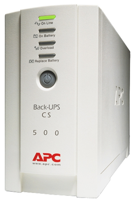 Источник питания APC by Schneider Electric Back-UPS 500, 230V (BK500EI)
