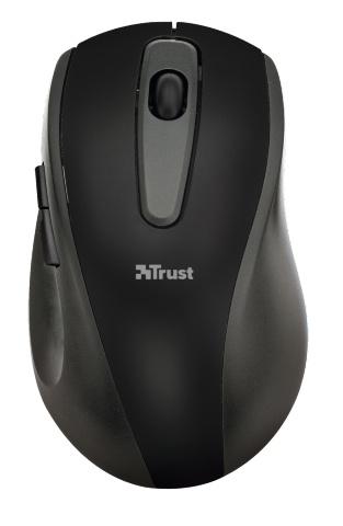 Компьютерная мышь Trust EasyClick Wireless Mouse Black USB (16536)