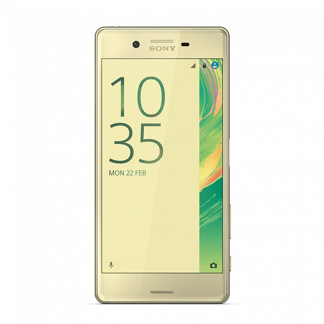 Мобильный телефон Sony F 5121 Xperia X Lime GoldМобильные телефоны<br><br>