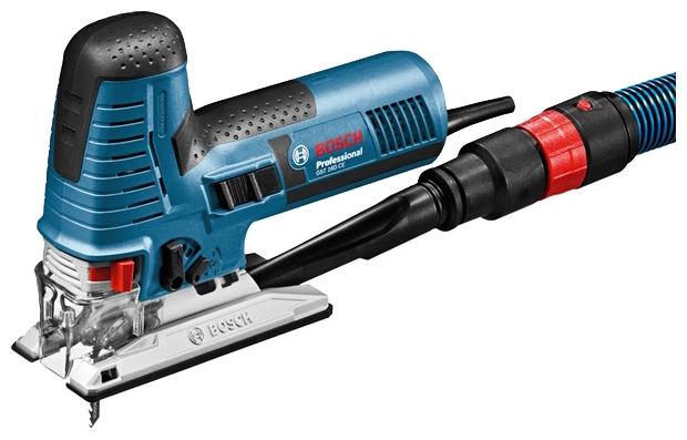 Лобзик Bosch GST 160 CE L-BOXX [0601517000]Лобзики электрические<br>Максимальная точность: абсолютный контроль для высокоточных пропилов!<br><br>Потребительские преимущества<br>- Компактная, легкая конструкция обеспечивает оптимальный контроль за инструментом<br>- Высокоточное ведение пильного полотна благодаря запатентованному двойному роликовому рычагу, который минимизирует увод пильного полотна и обеспечивает абсолютную точность пропила.<br>- Мощный двигатель 800 Вт с функцией константной электроники имеет запас мощности, достаточный для обработки даже очень твердых материалов<br><br>Дополнительные преимущества<br>- «Парковочная»...<br><br>Потребляемая мощность: 800 Вт<br>Частота движения пилки: 800 - 3000 ходов/мин<br>Длина хода: 26 мм<br>Глубина пропила дерева: 160 мм<br>Глубина пропила стали: 10 мм<br>Рукоятка: грибовидная, обрезиненная<br>Работа от аккумулятора: нет