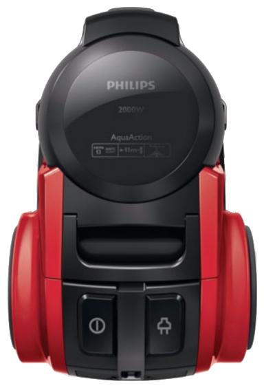 Пылесос Philips FC 8950/01Пылесосы<br><br><br>Тип: Пылесос<br>Потребляемая мощность, Вт: 2000<br>Мощность всасывания, Вт: 220<br>Тип уборки: Сухая<br>Регулятор мощности на корпусе: Нет<br>Фильтр тонкой очистки: Есть<br>Пылесборник: Аквафильтр