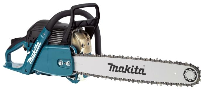 Бензопила Makita EA6100P45EПилы<br><br><br>Тип: бензопила<br>Конструкция: ручная<br>Мощность, Вт: 3400<br>Объем двигателя: 61 куб. см<br>Функции и возможности: антивибрация, тормоз цепи<br>Дополнительно: уровень шума 105 дБ
