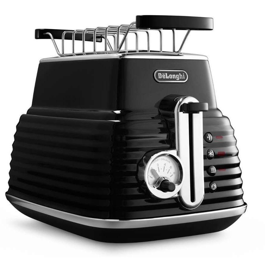 Тостер Delonghi CTZ 2103 BKТостеры и минипечи<br><br><br>Тип: тостер<br>Мощность, Вт.: 900<br>Тип управления: Механическое<br>Количество отделений: 2<br>Количество тостов: 2