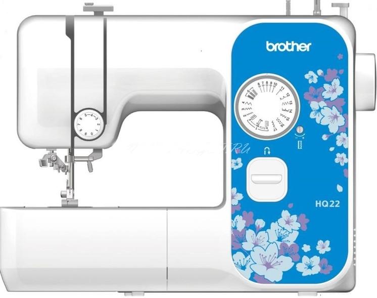 Швейная машина Brother HQ-22Швейные машины<br><br><br>Тип: электромеханическая<br>Тип челнока: ротационный горизонтальный<br>Количество швейных операций: 16<br>Число петель: 1<br>Максимальная длина стежка: 4.0 мм<br>Максимальная ширина стежка: 5.0 мм<br>Кнопка реверса: есть<br>Система измерения размера пуговиц: есть<br>Рукавная платформа: есть<br>Максимальная высота подъема лапки: 13 мм