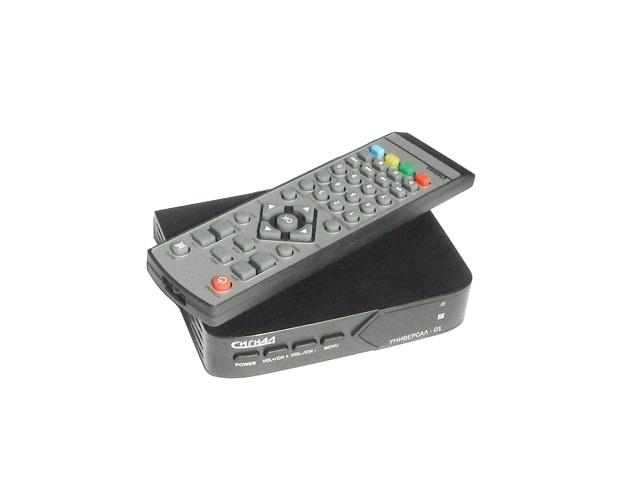 Цифровой ТВ тюнер Сигнал electronics Универсал 01