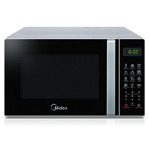 Микроволновая печь Midea EM 820 CAA-WМикроволновые печи<br><br><br>Объём, литров: 20<br>Тип: Микроволновая печь<br>Тип управления: Электронное