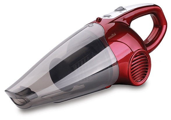 Пылесос Smile HVC 832Пылесосы<br>Пылесос Smile HVC 832 — компактное устройство для уборки в вашем доме. Прибор оснащен проводом длиной 4,5 м, что обеспечивает хорошую свободу перемещения в процессе уборки. Для большего удобства комплект поставки включает плечевой ремень. Такой пылесос подойдет для использования в квартире или маленьком офисе для постоянного поддержания чистоты.<br><br>- Оснащен пылесборником циклонного типа, обеспечивающим эффективное всасывание пыли.<br>- Пылесосный шланг с узким соплом расширяет удобство уборки.<br>- Прилагаются большая и маленькая щетки-сопло.<br>- Предусмотрена...<br><br>Тип: Пылесос<br>Потребляемая мощность, Вт: 1<br>Тип уборки: Сухая<br>Регулятор мощности на корпусе: Нет<br>Длина сетевого шнура, м: 4,5<br>Пылесборник: Циклонный фильтр<br>Емкостью пылесборника : 0.50 л