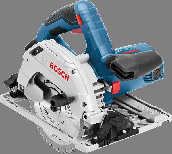 Дисковая пила Bosch GKS 55+ GCE [0601682100]Пилы<br><br><br>Тип: дисковая<br>Конструкция: ручная<br>Мощность, Вт: 1350