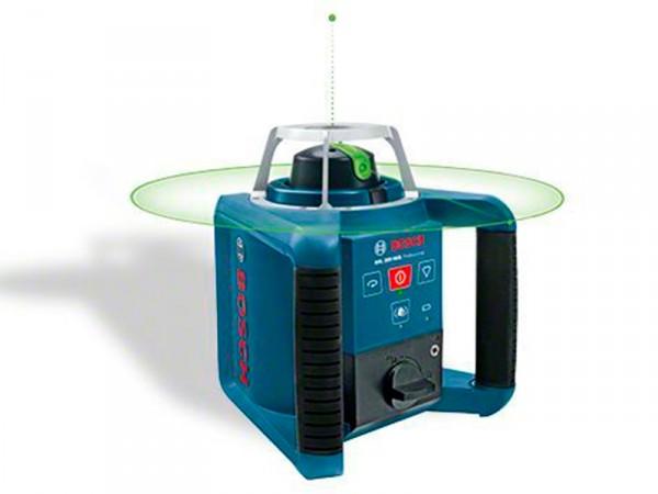 Ротационный лазерный нивелир Bosch GRL 300 HVG SET [0601061701]Измерительные инструменты<br>Очень четкая линия, удобная для внутренних работ<br>- Зеленый лазерный луч: в 4 раза лучшая видимость по сравнению с лучом красного цвета<br>- Быстрая регулировка при горизонтальном и вертикальном использовании благодаря функции автоматического нивелирования 8?% &amp;#40;± 5°&amp;#41;<br>- Подключаемая функция защиты от вибрации не допускает ошибок нивелирования в условиях наличия вибрации<br>- Точечный и линейный режимы, режим вращения для оптимальной видимости<br>- Высокая точность 0,1 мм/м<br>- Высокая прочность: сохраняет функциональность даже после падения с высоты...<br>