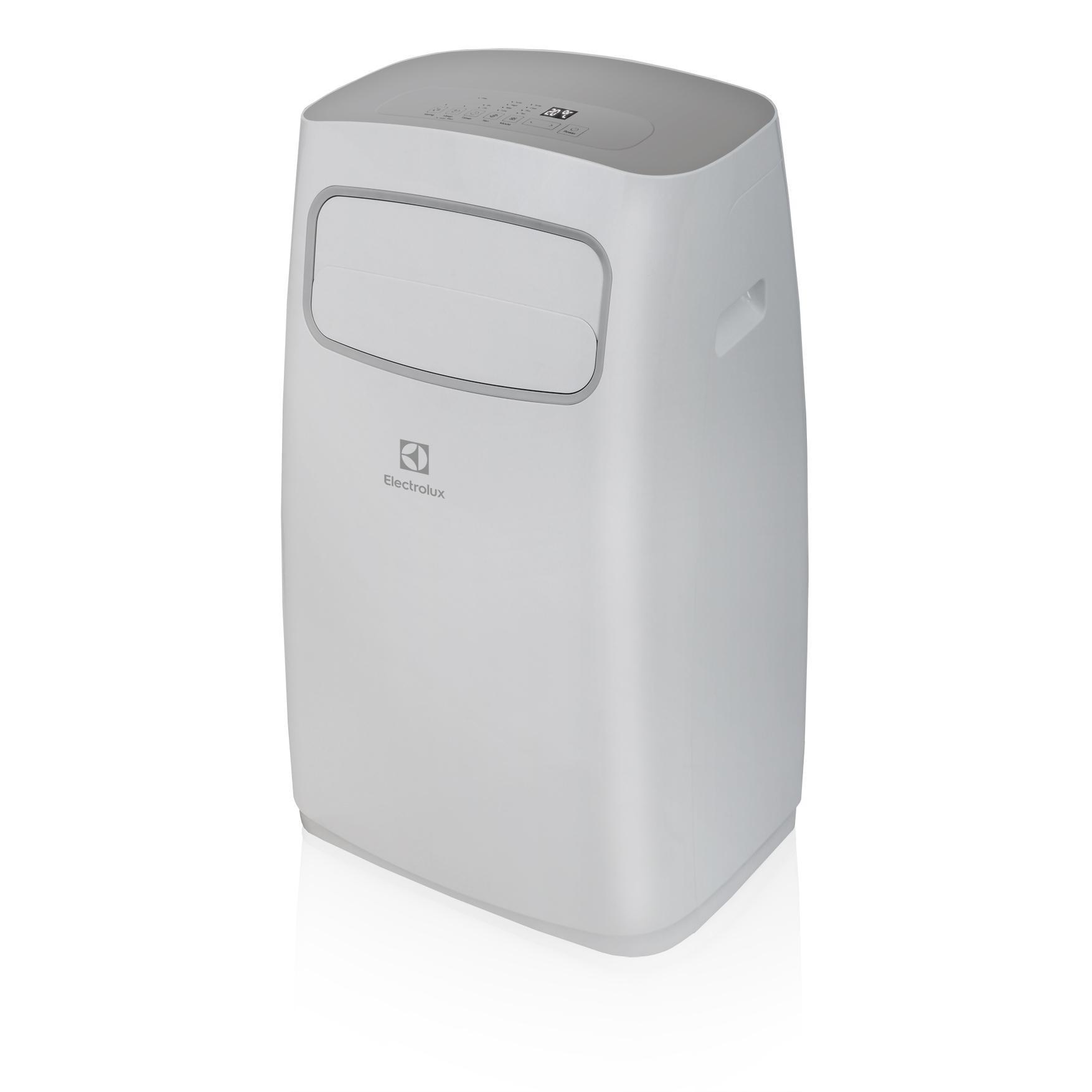 Кондиционер Electrolux EACM-12CG/N3Кондиционеры<br>Мобильный кондиционер Electrolux позволяет наслаждаться прохладным воздухом в помещении сразу же после его покупки, т.к. он прост в установке и не требует сложного монтажа.<br><br>Эксплуатационные характеристики мобильного кондиционера полностью идентичны настенной сплит-системе.<br><br>Наряду с привычным охлаждением он способен вентилировать, а также осушать воздух в помещении. Если невозможен монтаж обычного кондиционера, мобильный кондиционер Electrolux станет отличным решением.<br><br>Тип: мобильный кондиционер<br>Площадь охлаждения, м2: 30<br>Мощность в режиме охлаждения, Вт: 3520<br>Потребляемая мощность при охлаждении, Вт: 1350<br>Фаза : однофазный