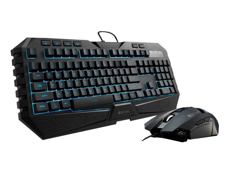 Клавиатура и мышь Cooler Master Octane Blue Black (SGB-3020-KKMF1-RU)