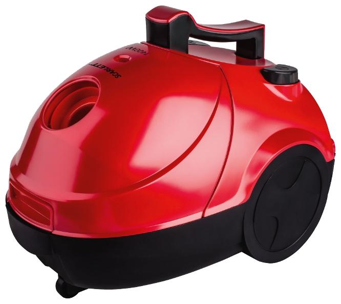 Пылесос Scarlett SC-VC80B03Пылесосы<br><br><br>Тип: Пылесос<br>Потребляемая мощность, Вт: 1400<br>Тип уборки: Сухая<br>Регулятор мощности на корпусе: Нет<br>Длина сетевого шнура, м: 5<br>Число ступеней фильтрации: 5<br>Пылесборник: Мешок<br>Емкостью пылесборника : 1.20 л<br>Индикатор заполнения пылесборника: Есть