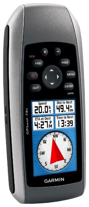 GPS навигатор Garmin GPSMAP 78SGPS навигаторы<br>Garmin GPSMAP 78s или обычный компас?<br>Помните, как раньше приходилось брать в поход старенький магнитный компас? Чтобы определить нужное направление, необходимо было держать его строго параллельно земле. Как хорошо, что сегодня вы можете купить современный GPS навигатор Garmin GPSMAP 78s и определять не только направление, но и ваш маршрут, держа его так, как вам хочется!<br>Этот навигатор не тонет в воде, имеет высокочувствительный GPS-приемник, который моментально определит ваше местоположение, а также он имеет возможность загрузки абсолютно любых карт местности....<br><br>Тип: универсальный<br>Тип навигатора: GPS навигатор портативный<br>Область применения: универсальный<br>Водонепроницаемый корпус: Есть<br>Барометр: Есть<br>Магнитный компас: Есть<br>Поддержка стандарта NMEA 0183: Есть<br>Возможность загрузки карты местности: Есть<br>Функция расчета маршрута: Есть<br>Память: MicroSD