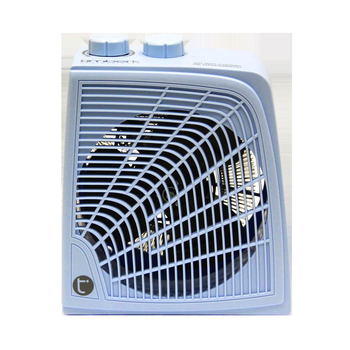 Тепловентилятор Timberk TFH S20QSS.GОбогреватели<br><br><br>Тип: термовентилятор<br>Тип нагревательного элемента: электрическая спираль<br>Площадь обогрева, кв.м: 22<br>Вентиляция без нагрева: есть<br>Отключение при перегреве: есть<br>Вентилятор : есть<br>Управление: механическое<br>Регулировка температуры: есть<br>Термостат: есть<br>Габариты: 200x115x235 мм
