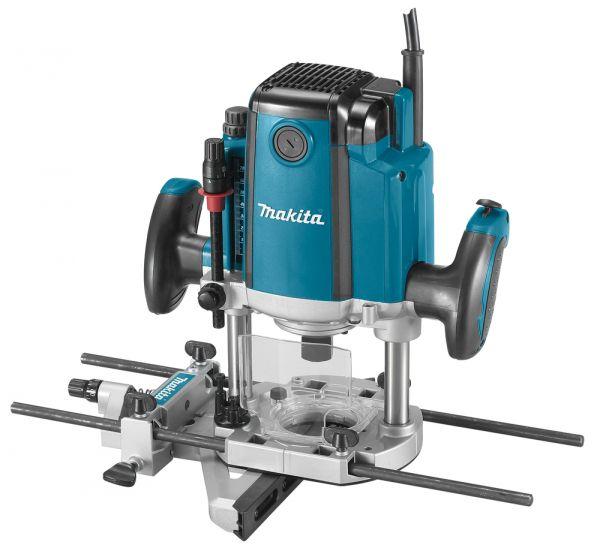Фрезер Makita RP1800FФрезеры<br><br><br>Мощность Вт: 1850<br>Максимальная глубина фрезерования: 70 мм