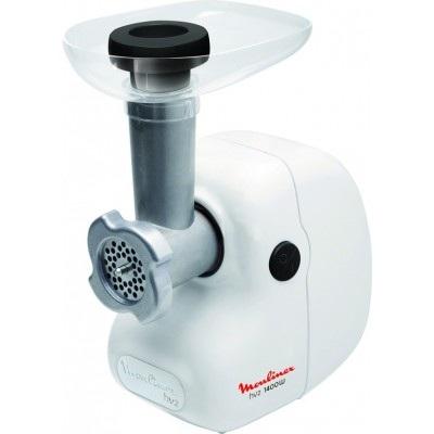Мясорубка Moulinex ME 208139Мясорубки<br><br><br>Производительность, кг/мин: 1.7<br>Мощность, Вт: 1400<br>Перфорированный диск для фарша: есть