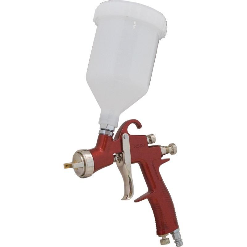 Краскопульт Калибр КРП-1,5/0,6ВБ ПРОФИКраскопульты<br>Краскопульт пневматический Калибр КРП-1,5/0,6ВБ ПРОФИ предназначен для нанесения красочных составов, путём распыления их сжатым воздухом<br><br>Тип: краскопульт<br>Мощность Вт: 300<br>Производительность: 109 л/мин<br>Объем контейнера: 600 мл<br>Описание: ширина распыления 180-280 мл