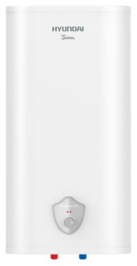 Водонагреватель Hyundai H-SWS7-80V-UI412Водонагреватели<br>Накопительный водонагреватель Hyundai H-SWS7-80V-UI412 оснащен резервуаром из нержавеющей стали и медным нагревательным элементом мощностью 2000 Вт. Предусмотрена комплексная система защиты от протечек, избыточного давления внутри бака, сухого нагрева и перегрева. Увеличенный магниевый анод обеспечивает защиту бака от коррозии.<br> <br>- Внутренний резервуар из высококачественной нержавеющей стали.<br>- Использование зеркальных декоративных элементов на панели управления придает прибору дополнительный шик.<br>- Экономия электроэнергии благодаря технологии Thermos-PE...<br><br>Тип водонагревателя: накопительный<br>Способ нагрева: электрический<br>Объем емкости для воды, л.: 80<br>Максимальная температура нагрева воды (°С): +75<br>Номинальная мощность(кВт): 2<br>Управление: механическое