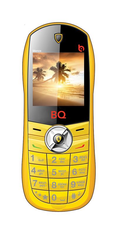 Мобильный телефон BQ BQM-1401 Monza YellowМобильные телефоны<br><br>