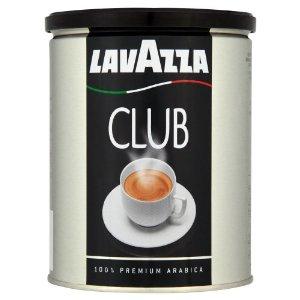 Кофе молотый Lavazza Club 250гр жест. банкаКофе, какао<br><br><br>Тип: кофе молотый<br>Обжарка кофе: средняя<br>Состав: 100% Арабика<br>Дополнительно: 100% Арабика