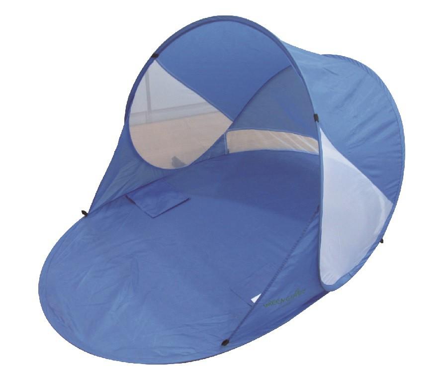 Палатка Green Glade SunbedПалатки<br>Green Glade Sunbed эта практичная, компактная и очень легкая пляжная палатка станет незаменимым аксессуаром для любителей позагорать.<br><br>Навес обеспечит защиту от солнца и Вы сможете избежать перегрева и солнечных ожогов.<br><br>Установка и сборка за несколько секунд!<br><br>Тип: палатка<br>Материал: 170Т Полиэстер PU