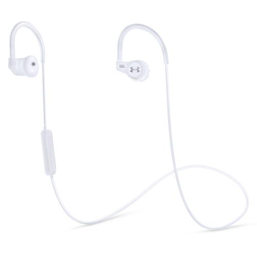 Наушники JBL Under Armour Wireless In-Ear Headphones with Heart-Rate Monitor WhiteНаушники и гарнитуры<br><br><br>Тип: гарнитура<br>Тип подключения: Беспроводные<br>Диапазон воспроизводимых частот, Гц: 10-22000<br>Микрофон: есть