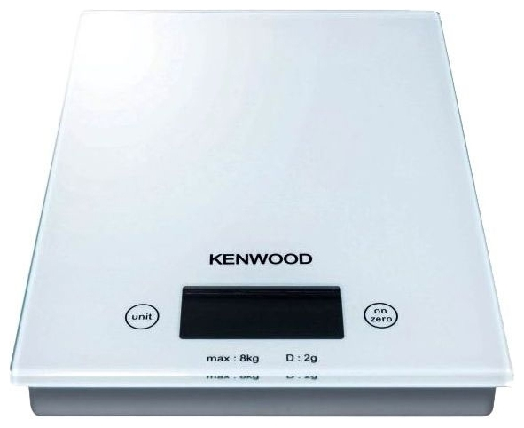 Кухонные весы Kenwood DS 401 WhiteВесы<br><br><br>Тип: кухонные весы<br>Тип весов: электронные<br>Предел взвешивания, кг: 8<br>Точность измерения, г: 2
