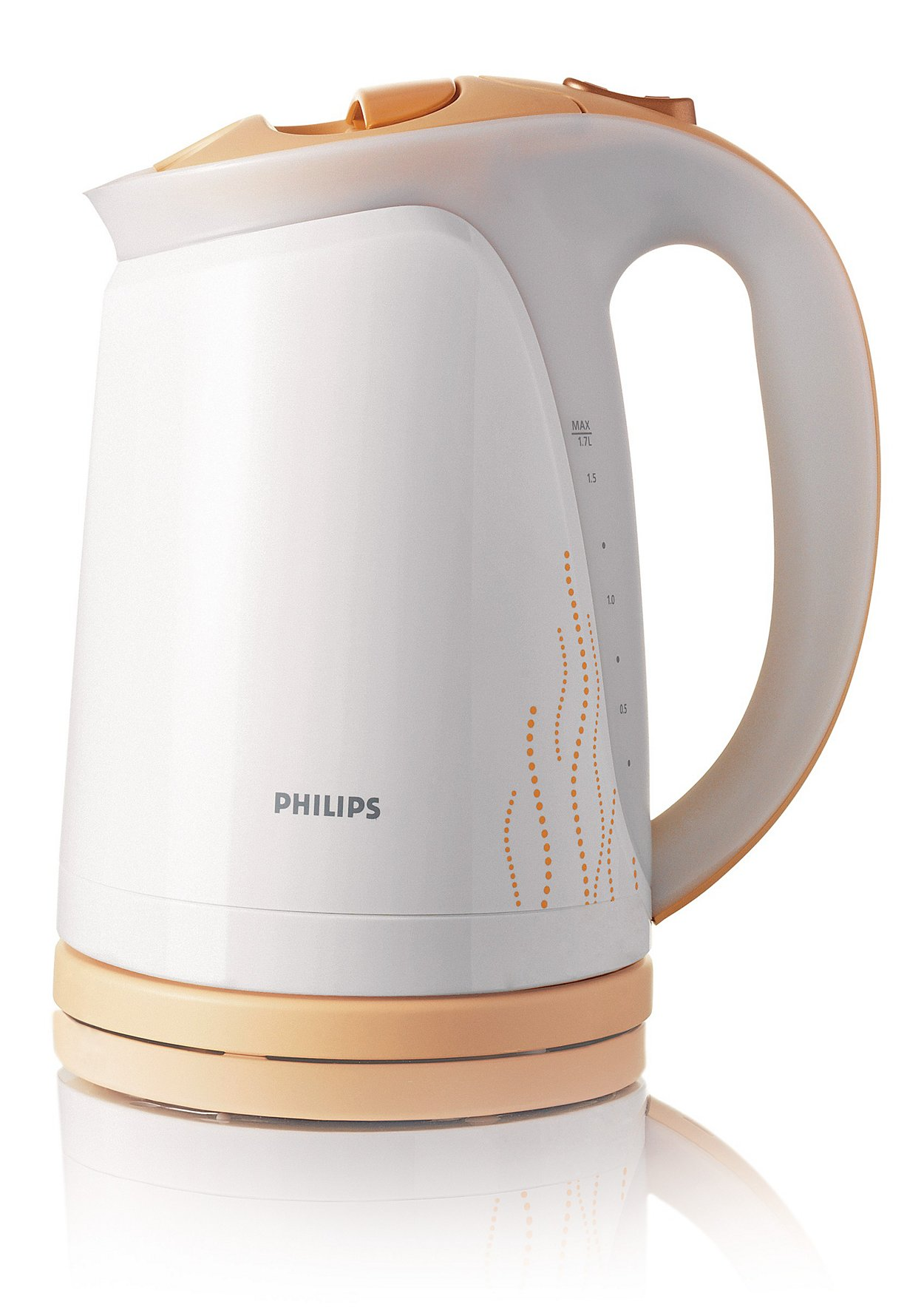 Чайник Philips HD 4681/55Чайники и термопоты<br><br><br>Тип   : Электрочайник<br>Объем, л  : 1.7<br>Мощность, Вт  : 2400<br>Тип нагревательного элемента: Закрытая спираль<br>Покрытие нагревательного элемента  : Нержавеющая сталь<br>Материал корпуса  : пластик<br>Индикация включения  : Есть<br>Индикатор уровня воды  : Есть<br>Блокировка крышки  : Есть<br>Фильтр  : Есть