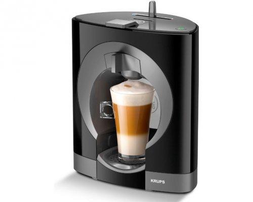 Кофеварка Krups kp1108 obloКофеварки и кофемашины<br>Пейте натуральный кофе с Krups kp1108 oblo!<br>Какой напиток самый популярный на сегодняшний день? Разумеется, кофе! Мы начинаем свой день с этого бодрящего напитка, покупаем симпатичный стаканчик с ним же по дороге на работу, а затем в разгар рабочего дня выпиваем еще несколько чашечек. Раз так часто мы пьем кофе, значит, важно, чтобы он был не только вкусным, но еще и натуральным!<br>Вот почему капсульная кофеварка Krups kp1108 oblo — это замечательное приобретение для любителя кофе. Поставьте ее у себя на кухне или в офисе, а затем каждый день наслаждайтесь вкусным,...<br><br>Тип используемого кофе: Капсулы<br>Мощность, Вт: 1200<br>Объем, л: 0.8<br>Давление помпы, бар  : 15<br>Материал корпуса  : Пластик<br>Одновременное приготовление двух чашек  : Нет<br>Съемный лоток для сбора капель  : Есть