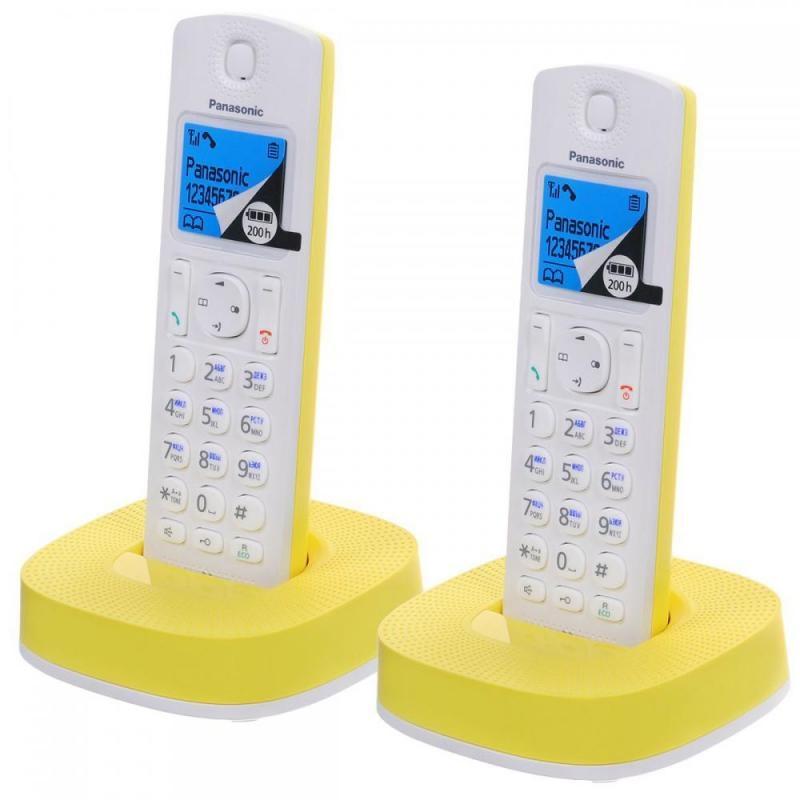 Радиотелефон Panasonic KX-TGC312RUYРадиотелефон Dect<br><br><br>Тип: Радиотелефон<br>Рабочая частота: 1880-1900 МГц<br>Стандарт: DECT<br>Возможность набора на базе: Нет<br>Проводная трубка на базе : Нет<br>Время работы трубки (режим разг. / режим ожид.): 16/200<br>Дисплей: на трубке (цветной), 4 строки