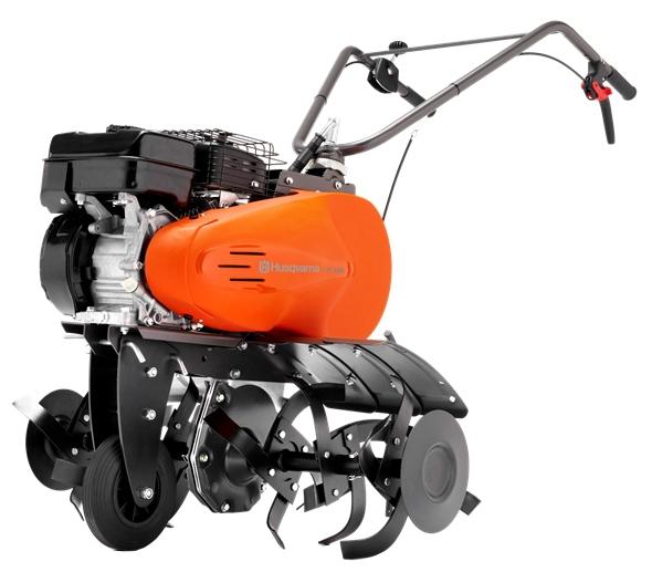 Культиватор Husqvarna TF536Мотоблоки и культиваторы<br><br><br>Тип: культиватор<br>Объем топливного бака: 3.4 л<br>Ширина обработки почвы: 90 см<br>Глубина вспахивания: 30 см<br>Тип двигателя: бензиновый, 4х тактный<br>Производитель и модель двигателя: Subaru-Robin OHC EP21<br>Объем двигателя: 169 куб. см<br>Мощность двигателя: 4.70 кВт / 6.39 л.с. при 3400 об/мин<br>Тип редуктора: цепной<br>Количество передач: 2 вперед, 1 назад