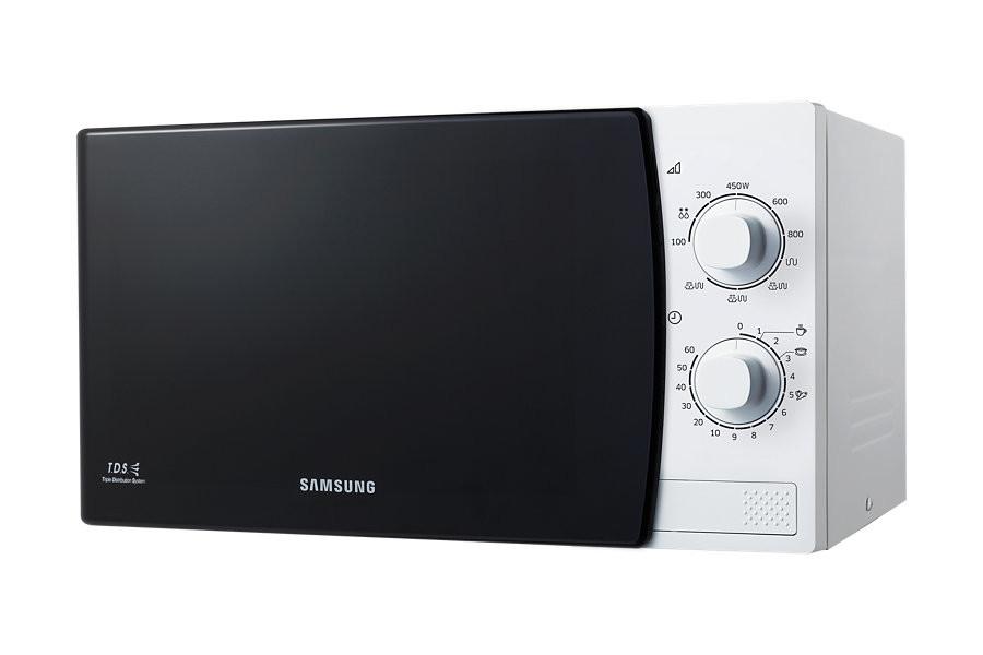Микроволновая печь Samsung GE 81 KRW 1Микроволновые печи<br><br><br>Объём, литров: 23<br>Тип: Микроволновая печь<br>Тип управления: Механическое<br>Переключатели: Поворотные