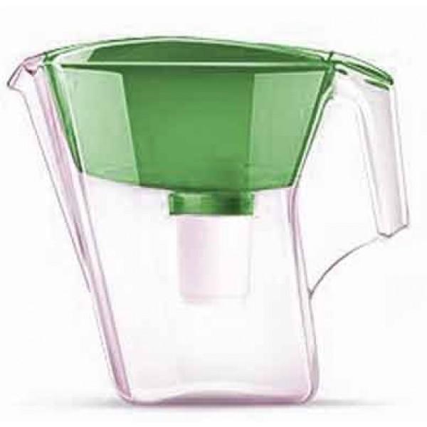 Кувшин Аквафор ЛАЙН (зеленый)Фильтры и умягчители для воды<br>Оптимально использовать соотношение объемов воронки и кувшина позволит эта модель фильтр-кувшина. При фильтрации снижается  содержание солей жесткости. Фильтр надежно очищает воду, удаляет хлор, мелкие частицы, тяжелые металлы, нефтепродукты и другие вредные примеси.<br><br>Тип: фильтр-кувшин<br>Тип фильтра: кувшин<br>Подключение к водопроводу: нет<br>Фильтрующий модуль в комплекте: есть<br>Ресурс стандартного фильтрующего модуля: 300 л<br>Помпа для повышения давления: нет<br>Максимальная производительность л/мин.: 0,4 л