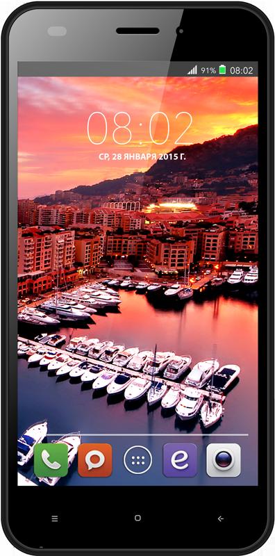 Мобильный телефон BQ BQS-5011 Monte Carlo WhiteМобильные телефоны<br><br>