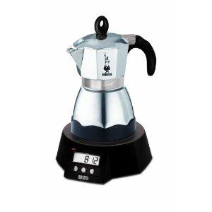 Кофеварка Bialetti Easy timer 3 п. 1132CКофеварки и кофемашины<br><br><br>Тип : гейзерная кофеварка<br>Тип используемого кофе: Молотый<br>Объем, л: 0.18<br>Материал корпуса  : Металл<br>Одновременное приготовление двух чашек  : Нет<br>Съемный лоток для сбора капель  : Нет