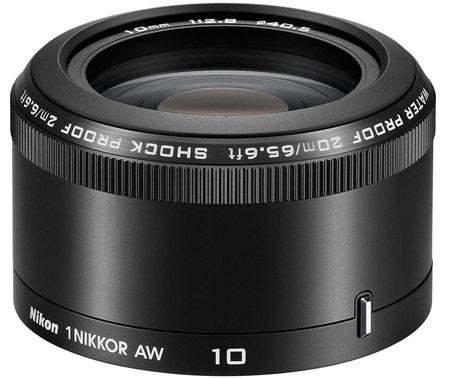 Объектив Nikon 1 NIKKOR AW 10mm/f2.8 Black