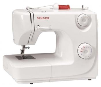 Швейная машина Singer 8280Швейные машины<br>Singer 8280 — настоящий клад!<br>Электромеханическая швейная машина Singer 8280 — настоящий клад для любой хозяйки! Маленькая, компактная и многофункциональная швейная машинка Singer 8280, во-первых, имеет прекрасную цену, а, во-вторых, идеально справляется даже с очень трудными задачами. Она работает с любыми тканями, даже с трикотажем, эластиком, драпом, шелком, джинсой.<br>7 швейных операций, кнопка реверса, плавная регулировка скорости шитья, нитевдеватель и лапка для подрубки — у этой машинки имеется полный комплект функций, необходимых для качественного и...<br><br>Тип: электромеханическая<br>Тип челнока: качающийся<br>Вышивальный блок: нет<br>Количество швейных операций: 7<br>Выполнение петли: полуавтомат<br>Максимальная длина стежка: 4 мм<br>Максимальная ширина стежка: 5.0 мм<br>Оверлочная строчка : есть<br>Потайная строчка : нет<br>Кнопка реверса: есть