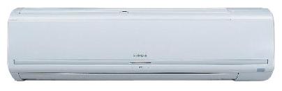 Сплит-система Hitachi RAS-18LH2/RAC-18LH1Кондиционеры<br><br><br>Тип: настенная сплит-система<br>Режим работы: охлаждение / обогрев<br>Воздухообмен, м?/мин: 13.5<br>Площадь охлаждения, м2: 50<br>Мощность в режиме охлаждения, Вт: 4890<br>Мощность в режиме обогрева, Вт: 5700<br>Потребляемая мощность при обогреве, Вт: 1710<br>Потребляемая мощность при охлаждении, Вт: 1610<br>Тип хладагента: R 410A<br>Фаза : однофазный