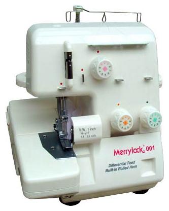 Оверлок Marrylock 001Оверлоки<br>Дифференциальная подача ткани.Встроенный узкий ролевой шов.Откидной столик. <br>Мы рекомендуем эту простую модель тем, кто много шьет. Трехниточный оверлочный шов используется в 80% швах готовых изделий! Остальные швы могут быть выполнены на швейной машине с помощью прямой строчки.<br><br>Тип: оверлок<br>Число нитей: 3.0000<br>Количество швейных операций: 5<br>Виды швов: ролевой шов, flatlock<br>Максимальная длина стежка: 4.0 мм<br>Максимальная ширина стежка: 5.0 мм<br>Максимальная высота подъема лапки: 6 мм<br>Отсек для аксессуаров : есть<br>Чехол: мягкий