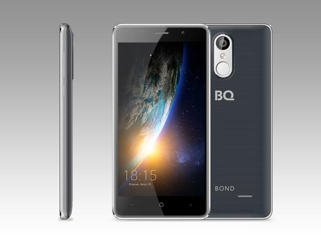 Мобильный телефон BQ BQ-5022 Bond Dark GrayМобильные телефоны<br><br><br>Тип: Смартфон<br>Поддержка двух SIM-карт: есть<br>Операционная система: Android 6.0<br>Фотокамера: 8 Мп<br>Процессор: MTK6580A<br>Количество ядер процессора: 4<br>Объем оперативной памяти Мб.: 1024