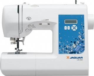 Швейная машина Jaguar CR-900Швейные машины<br><br><br>Тип: электронная<br>Тип челнока: ротационный горизонтальный<br>Вышивальный блок: нет<br>Количество швейных операций: 90<br>Выполнение петли: автомат<br>Число петель: 7<br>Максимальная длина стежка: 4.0 мм<br>Максимальная ширина стежка: 6.5 мм<br>Оверлочная строчка : есть<br>Потайная строчка : есть