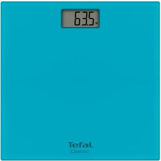 Весы Tefal PP 1133Весы<br>Напольные весы Tefal PP 1133 станут великолепным выбором для любого современного человека. Устройство обеспечит вам возможность быстрого и точного измерения массы тела. Доступные единицы измерения – килограммы, фунты и стоуны. Показания весов отображаются на дисплее, имеющем размер 70x38 мм. Рабочая поверхность весов изготовлена из прочного стекла, и имеет стильный голубой цвет. Вы сможете по достоинству оценить высокую точность измерения, которую обеспечивает модель: она равна 100 г. Максимальная нагрузка, которую выдерживают Tefal PP 1133, составляе...<br><br>Тип: напольные весы<br>Тип весов: электронные<br>Предел взвешивания, кг: 160<br>Точность измерения, г: 100