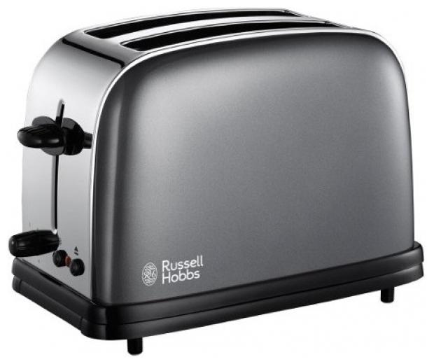 Тостер Russell Hobbs 18954-56Тостеры и минипечи<br><br><br>Тип: тостер<br>Мощность, Вт.: 1100<br>Тип управления: Механическое<br>Количество отделений: 2<br>Количество тостов: 2