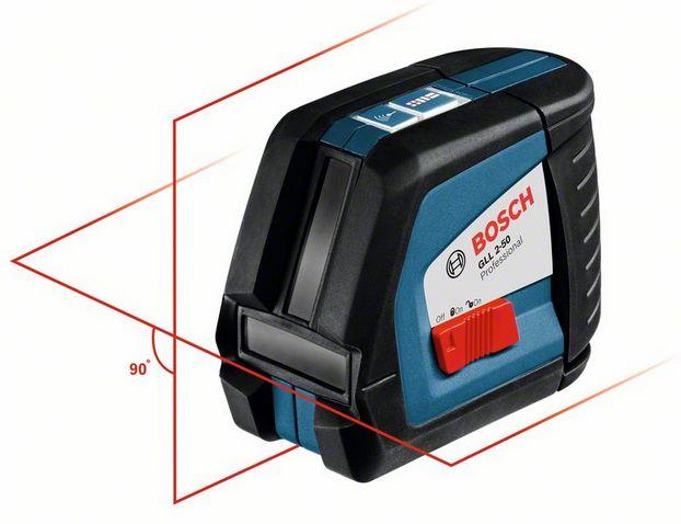 Лазерный нивелир Bosch GLL 2-50 + BS 150 + вкладка под L-Boxx [0601063105]