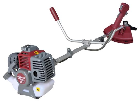 Триммер Expert Grasshopper 33SГазонокосилки и триммеры<br><br><br>Тип: триммер<br>Тип двигателя: бензиновый<br>Ширина скашивания, см: 25<br>Дополнительно: возможность установки кустореза/сучкореза. Тормоз двигателя. Обороты двигателя 6500<br>Мощность двигателя (Вт): 880<br>Мощность двигателя (л.с.): 1.2