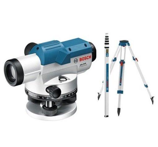 Оптический нивелир Bosch GOL 26 D + BT 160 + GR 500 Kit [0601068002]